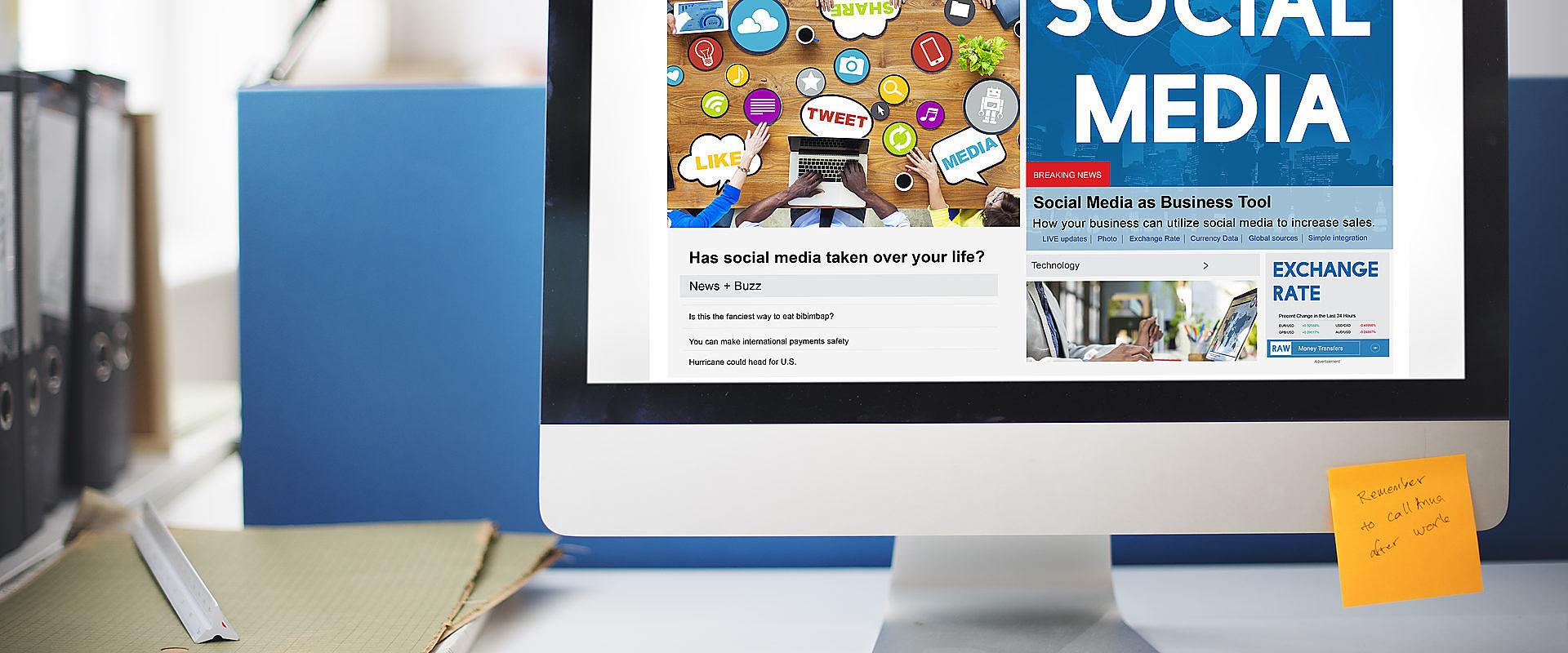 Las 4 redes sociales fundamentales en la empresa (Facebook, Linkedin, Twitter e Instagram)